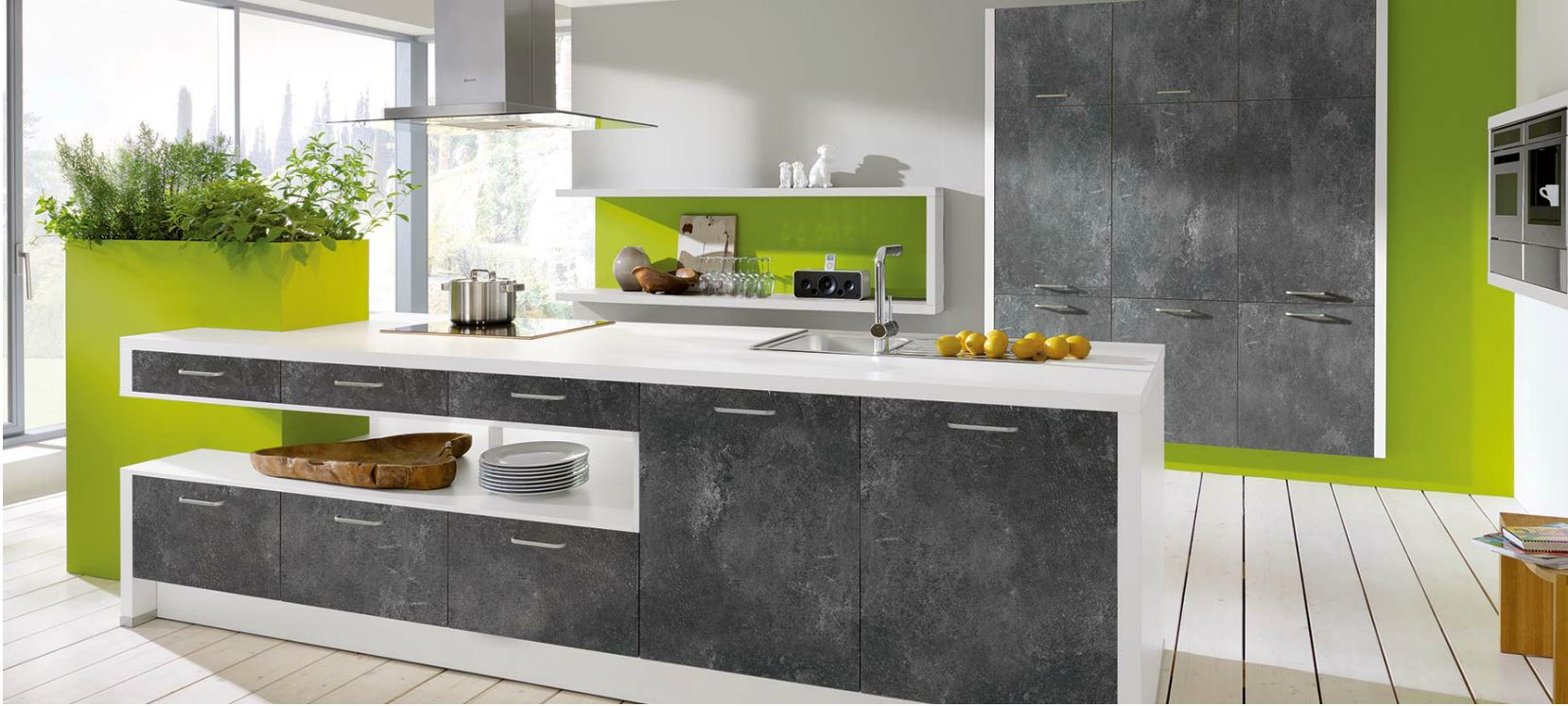 Tendencias en reformas clurjor for Muebles de cocina modernos color blanco